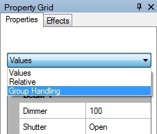 Picture 5: Property grid options